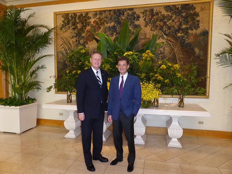 Retour du Baron Philippe Sereys de Rothschild à Taiwan 3
