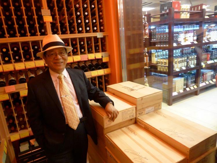 Retour du Baron Philippe Sereys de Rothschild à Taiwan 5