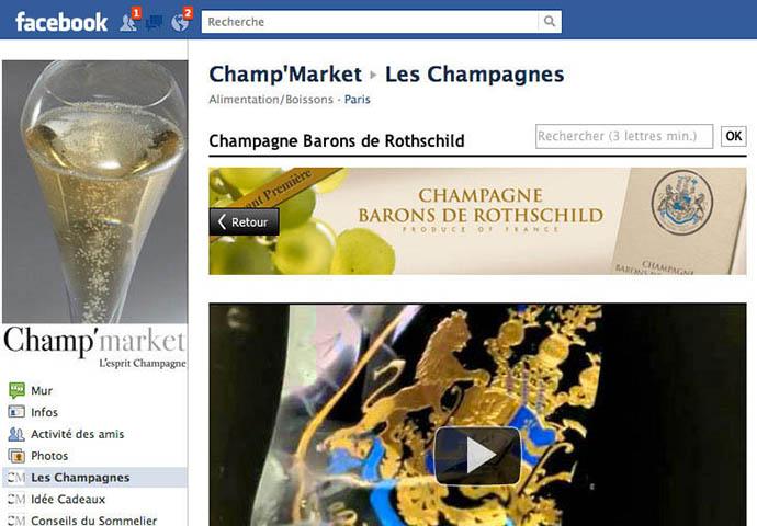 Champagne Barons de Rothschild sur Facebook 1