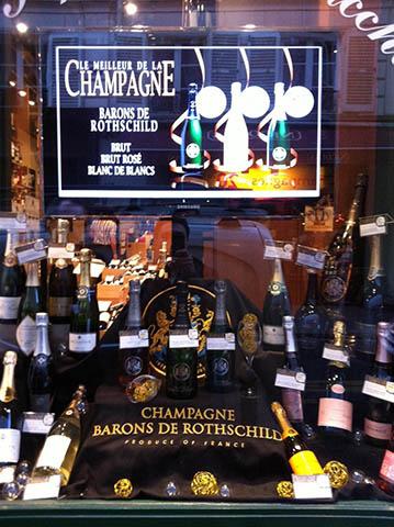 Champagne Barons de Rothschild aux Repaires de Bacchus, Paris. 1