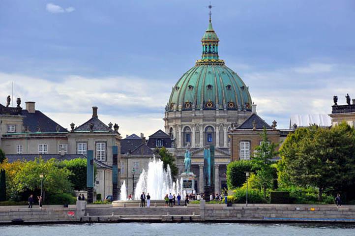 Champagne Barons de Rothschild show à Copenhague 1