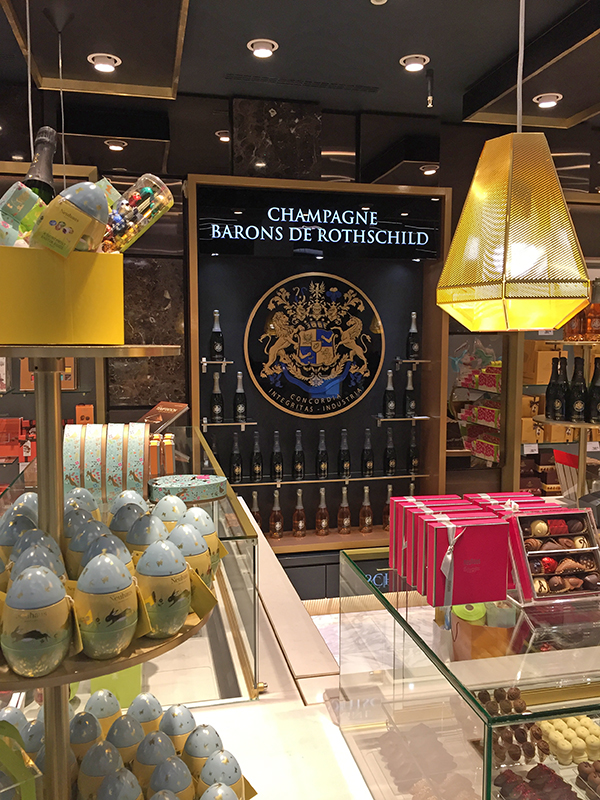 Café Coco Aéroport de Schiphol Amsterdam en Champagne 2