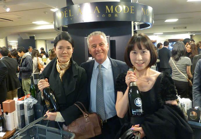 Tokyo, Noël 2012 chez Isetan, nouveau record ! 2