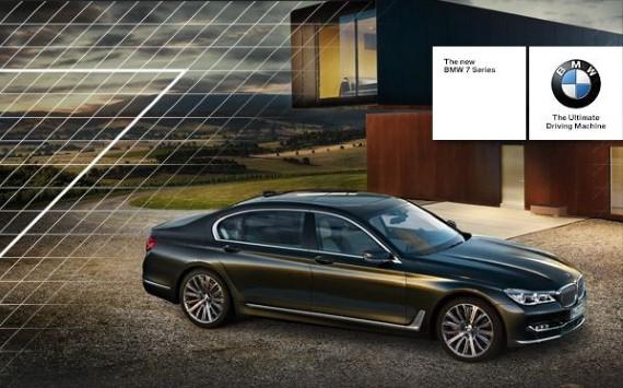 Londres – Lancement nouvelle série 7 BMW 1