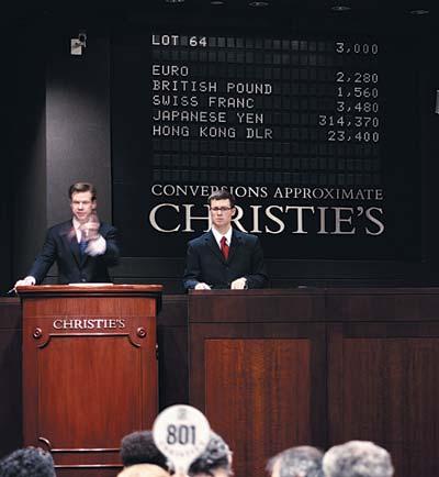 Sous le marteau de Christie's ! 1
