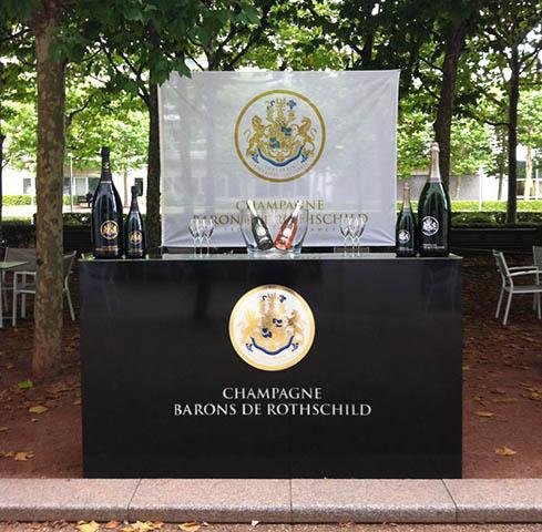 Venez goûter les Champagnes Barons de Rothschild 3