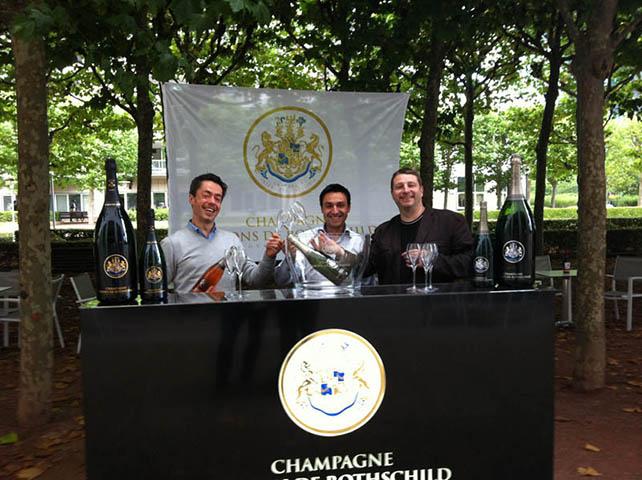 Venez goûter les Champagnes Barons de Rothschild 2