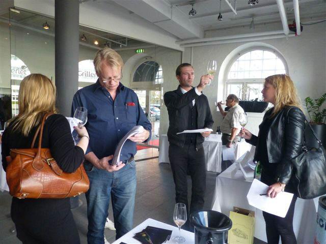 Champagne Barons de Rothschild show à Copenhague 2