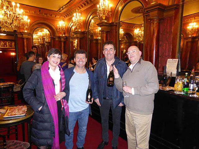 Les Chevaliers du fiel Ambassadeurs Champagne Barons de Rothschild 8