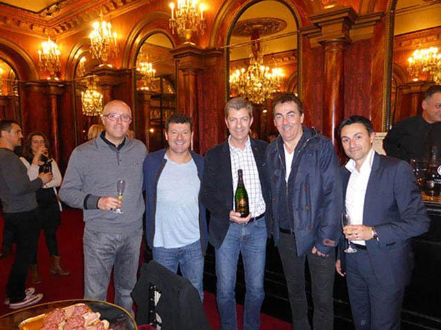 Les Chevaliers du fiel Ambassadeurs Champagne Barons de Rothschild 10