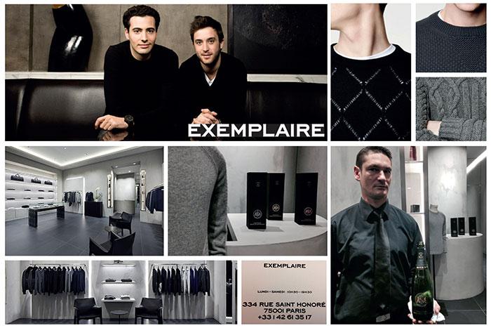 """lancement de la nouvelle boutique parisienne """"Exemplaire"""" 1"""