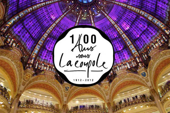 Centenaire de la Coupole des Galeries Lafayette 1
