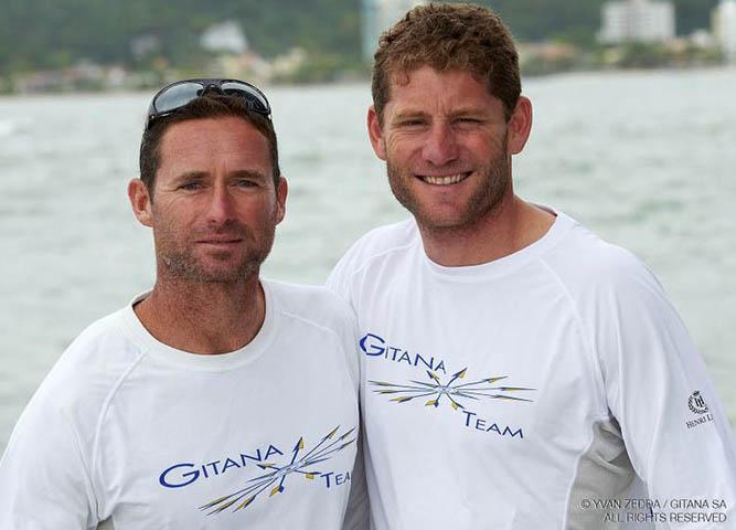Gitana Team vainqueur de la transat Jacques Vabre 2