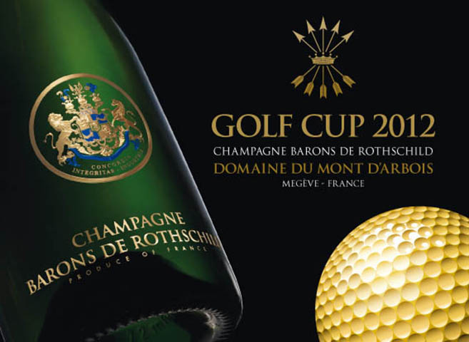 Golf Cup Champagne Barons de Rothschild 1