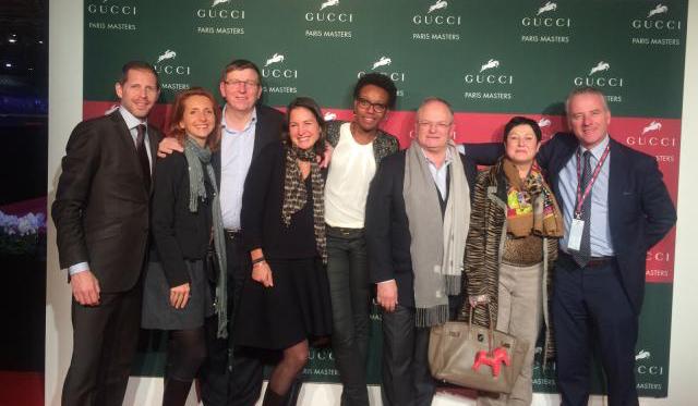 Barons de Rothschild sur le podium du Paris Gucci Masters 1