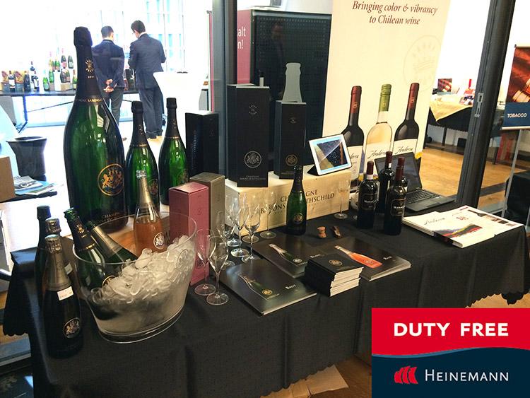 Champagne Barons de Rothschild référencé chez Heinemann 2