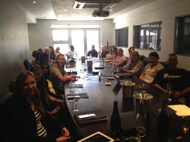 Champagne Barons de Rothschild à Johannesburg 1