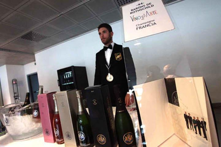 Champagne Barons de Rothschild en piste à Monza 11