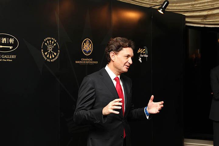 Baron Philippe Sereys de Rothschild, Hong Kong 1