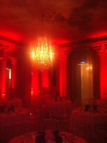 La Belgique met le Champagne Barons de Rothschild à l'honneur à l'hôtel Salomon de Rothschild à Paris. 1