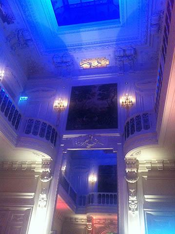 La Belgique met le Champagne Barons de Rothschild à l'honneur à l'hôtel Salomon de Rothschild à Paris. 2