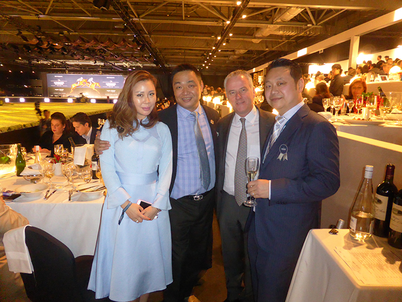 Longines Master Hong Kong - Champagne Barons de Rothschild 1