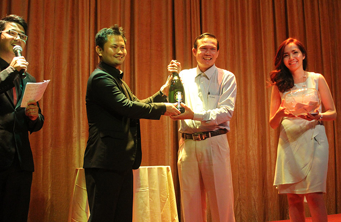 Champagne Barons de Rothschild à Phnom Penh 3