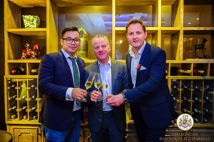 Champagne Barons de Rothschild prend ses marques au Vietnam 1