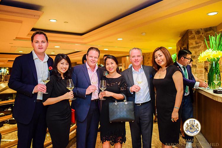 Champagne Barons de Rothschild prend ses marques au Vietnam 2