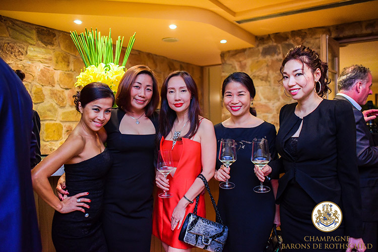 Champagne Barons de Rothschild prend ses marques au Vietnam 3