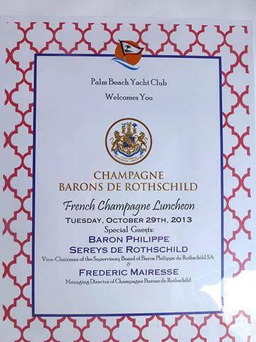 Baron Philippe Sereys de Rothschild à Miami 1