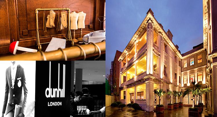 Shanghai - Défilé annuel de Dunhill aux couleurs Barons de Rothschild 1