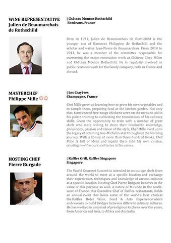 Singapour, 17ème Mondial de la Gastronomie 6