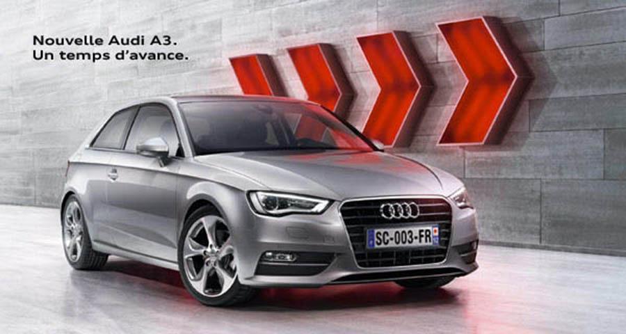 Nouvelle Audi A3 1