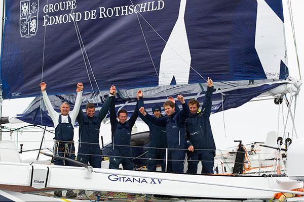 Route du Rhum 2014 - Gitana Rothschild, 2
