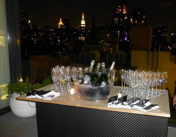 Déploiement des Champagnes Barons de Rothschild aux USA 1
