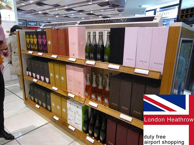 Champagne Barons de Rothschild à Heathrow 4