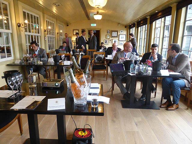 Le Restaurant De Hoop reçoit le Baron Philippe Sereys de Rothschild 2