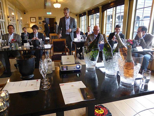 Le Restaurant De Hoop reçoit le Baron Philippe Sereys de Rothschild 4