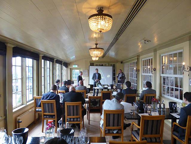 Le Restaurant De Hoop reçoit le Baron Philippe Sereys de Rothschild 3