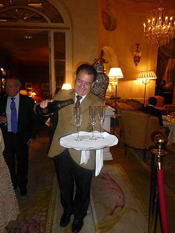 Soirée magique au Ritz de Madrid 3