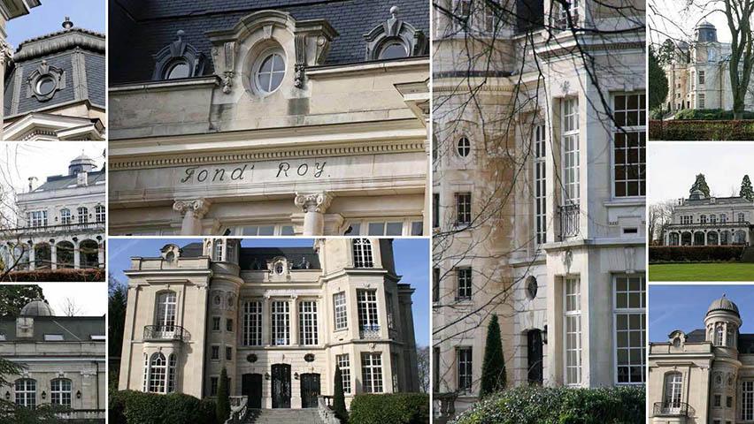 Château Fond'Roy et Champagne Barons de Rothschild à Bruxelles 4