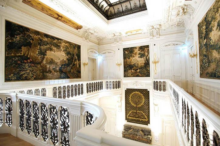 La Belgique met le Champagne Barons de Rothschild à l'honneur à l'hôtel Salomon de Rothschild à Paris. 3
