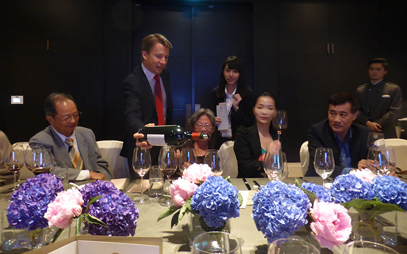 Champagne Barons de Rothschild & Château Clerc Milon au Mandarin Oriental Taipei 5