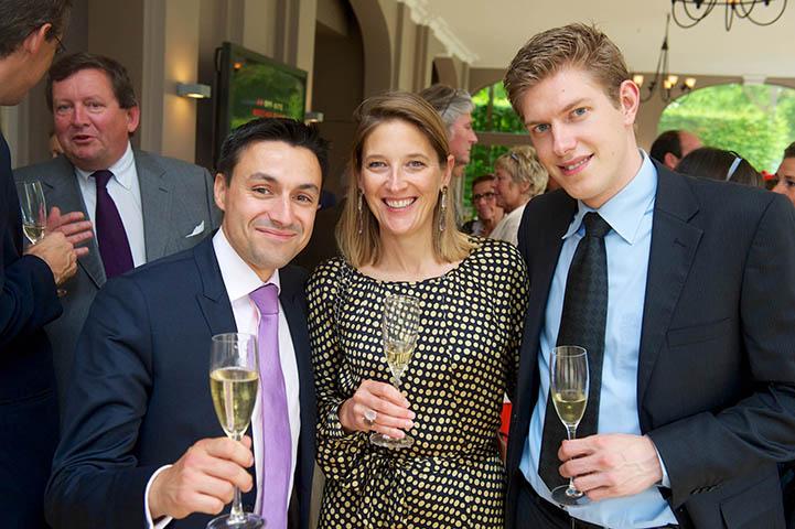 Château Fond'Roy et Champagne Barons de Rothschild à Bruxelles 1