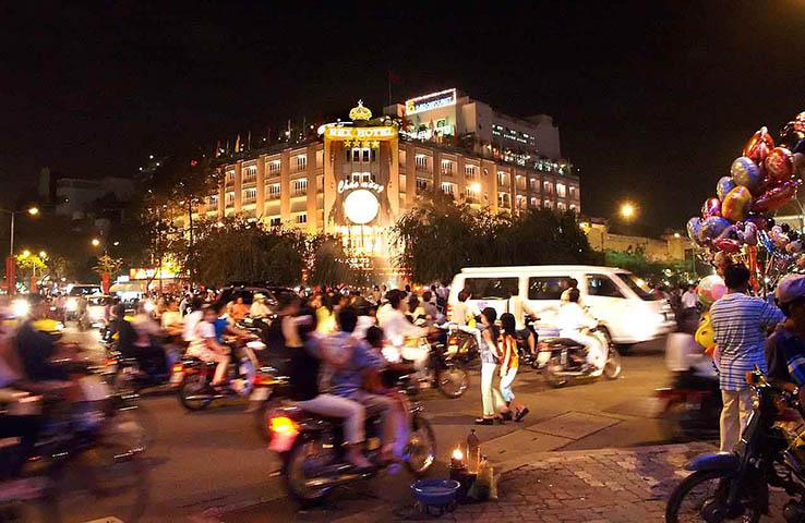 Vietnam, Rex Hotel Wine Diner 4