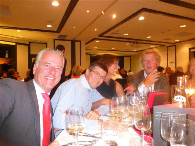 Soir e rothschild au wine business club marseille champagne barons de rothschild - Club house vieux port marseille ...