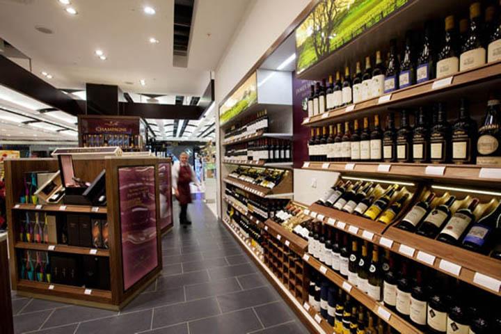 Champagne Barons de Rothschild à Heathrow 3
