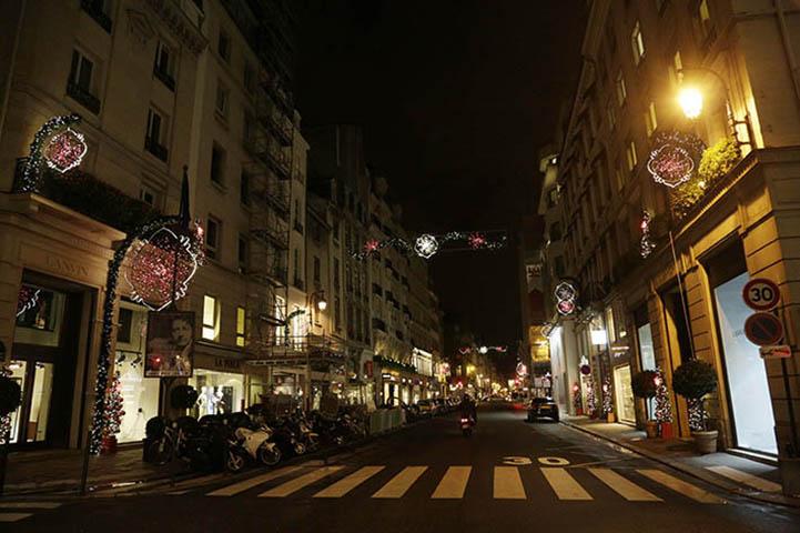 Wintertime du Faubourg Saint Honoré au profit de l'Institut Imagine 2