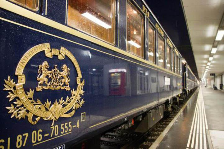 à bord du mythique Orient-Express 1